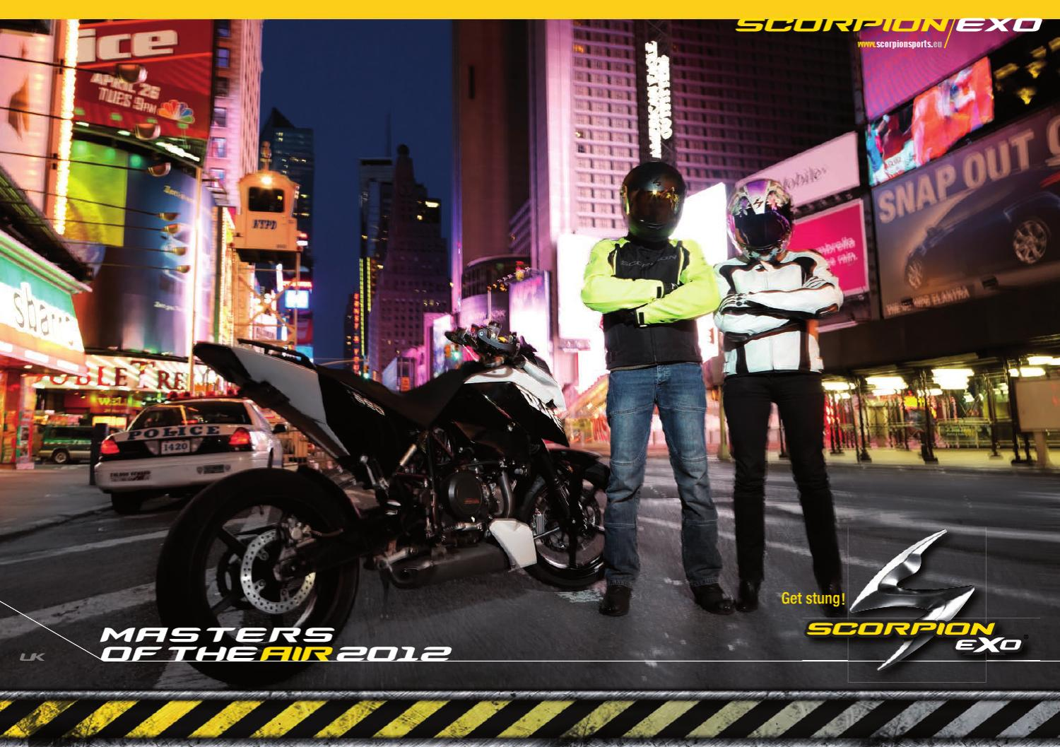 56bf7608 Scorpion Sports catalogue - January 2012 by sebastian kuebler - issuu