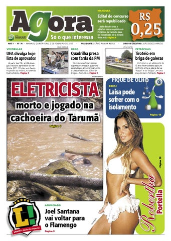 AGORA - 02 de fevereiro de 2012 by Amazonas Em Tempo - issuu 2b45c121460