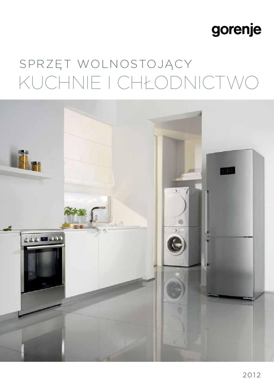 Kuchnie I Chlodnictwo Wolnostojace 2012 By Gorenje D D Issuu