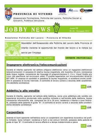 Provincia Lavoro by Obiettivo Comune - issuu