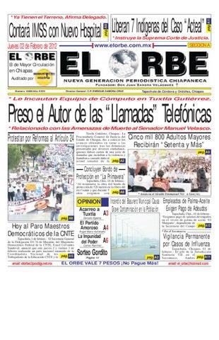 FEBRERO 02 DE 2012 by elorbe orbe - issuu 3e177bc311618
