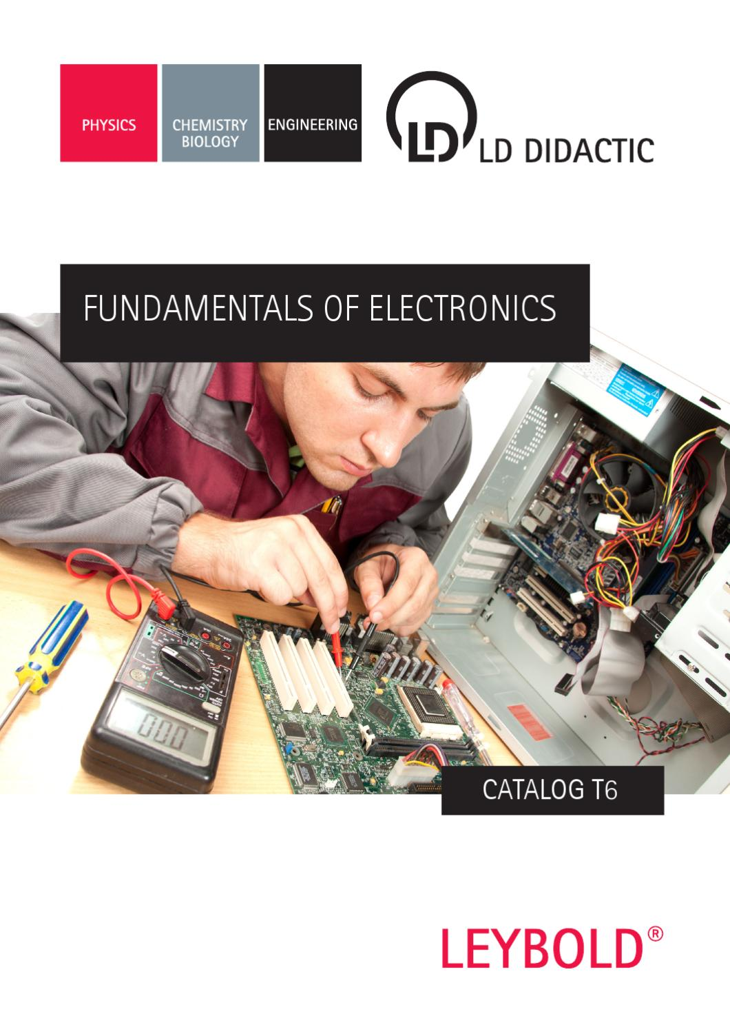 T6 Fundamentals Of Electronics By Ld Didactic Gmbh Issuu Fast Half Wave Rectifier Circuit Automotivecircuit
