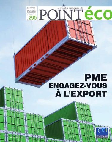 Point eco janvier f vrier 2012 by cci alsace eurom tropole - Chambre de commerce et d industrie strasbourg ...