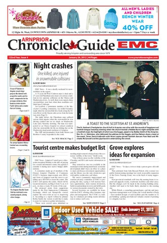 Arnprior Chronicle Guide EMC by Metroland East Arnprior