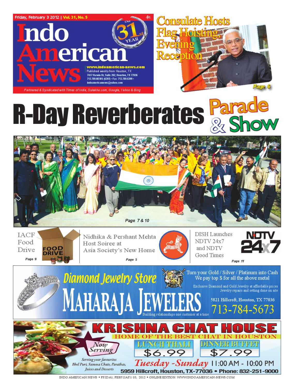 Feb 3, 2012 by Indo American News - issuu