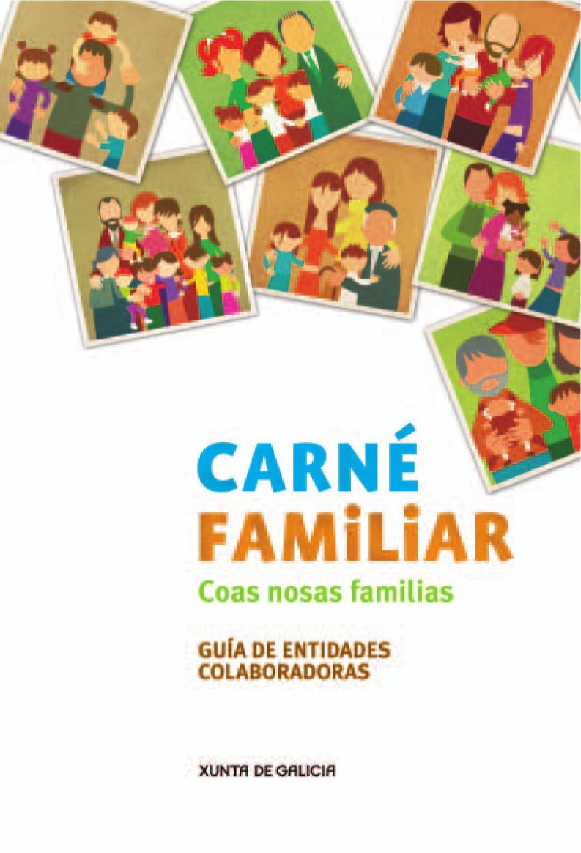 Gu A Carn Familiar Galego By Asociaci N Galega De Familias  # Muebles Boqueixon