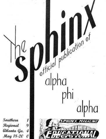official photos 42719 77125 The SPHINX   Spring May 1940   Volume 26   Number 2 194002602