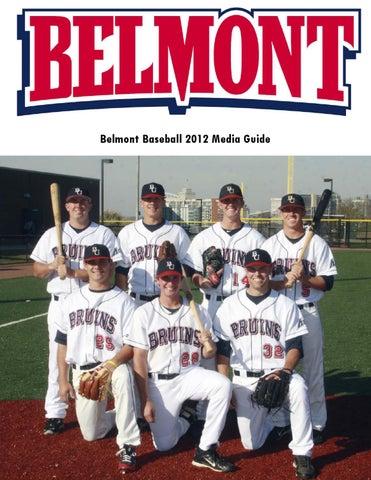 Belmont Baseball 2012 Media Guide by Belmont Athletics - issuu 23cc4e6f926