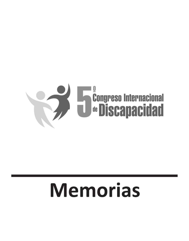 Memorias 5 Congreso Internacional de Discapacidad Colombia by Los ...