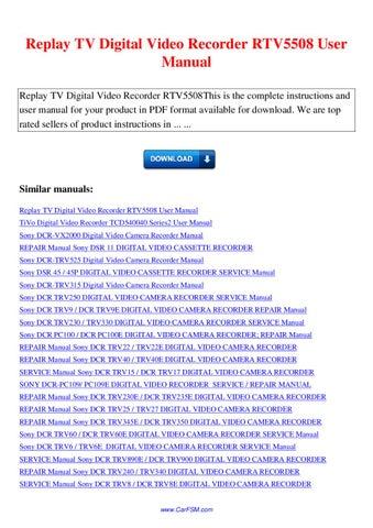 sony ccd f375e service manual download