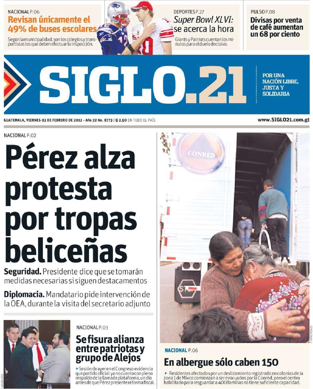 Siglo030212 By Oscar Mota Issuu # Hazan Muebles Gavilan