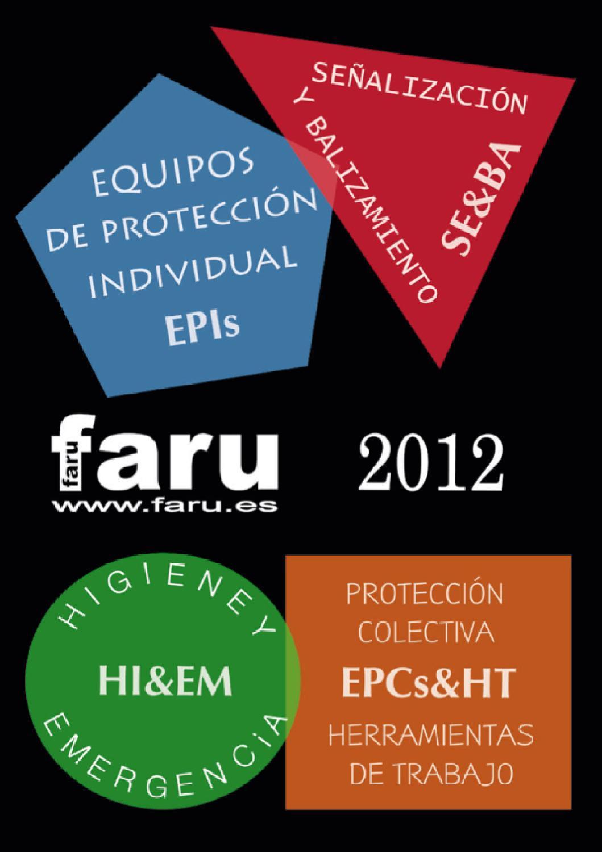 Catalogo proteccion laboral FARU by SIFRA - issuu 010a5e64d7f7
