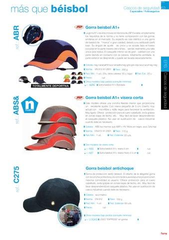 Catalogo proteccion laboral FARU by SIFRA - issuu 700c1178bd7