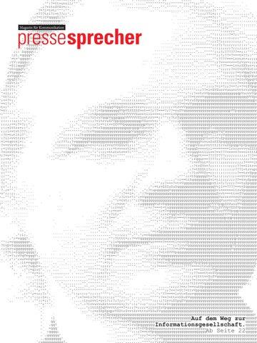 Magazin pressesprecher 05 2011 by Steffi Portfolio - issuu