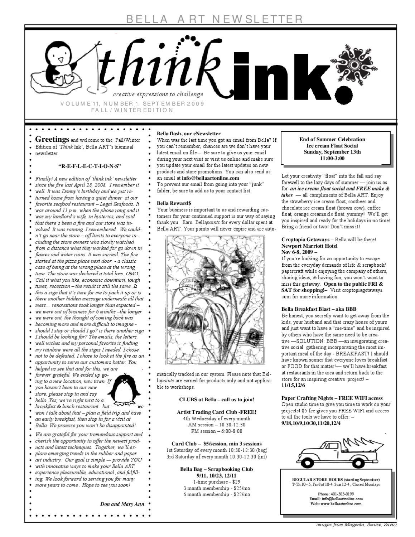 Think Ink Vol 11 By Mary Ann Antonelli Issuu