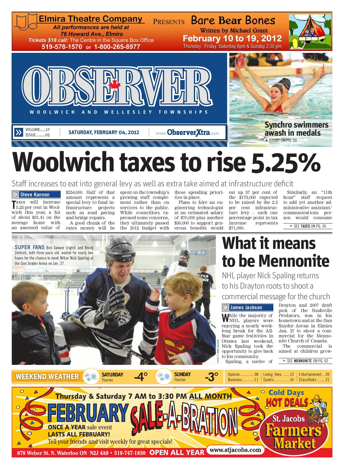 February 4, 12 by Woolwich Observer - issuu