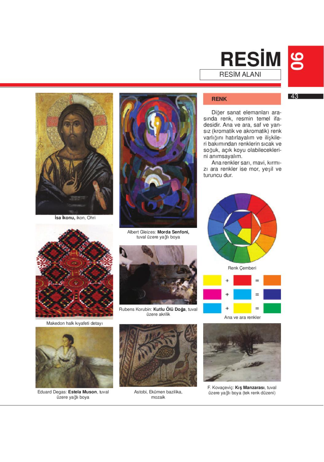 Likovno7tur By Ministry Of Education And Sience Issuu