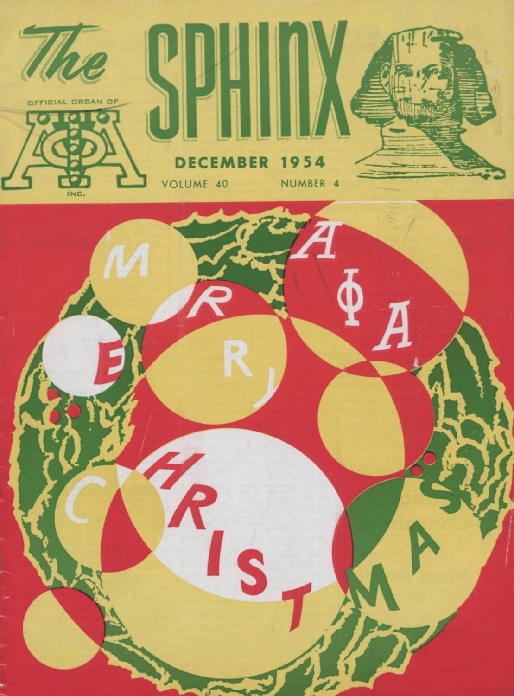 The SPHINX | Winter December 1954 | Volume 40 | Number 4 195404004