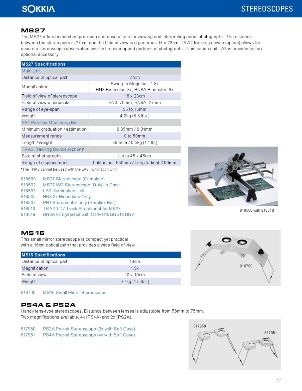 Sokkia Supply Catalog by Georgia Surveyors Exchange - issuu