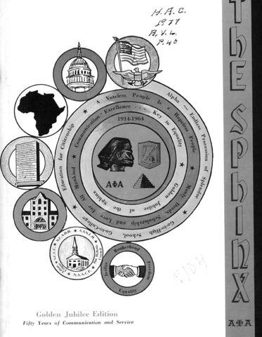 The Sphinx Springsummer 1964 Volume 50 Number 2 196405002 By
