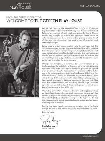 The Jacksonian Program By Geffen Playhouse Issuu