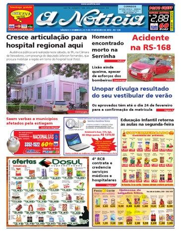 22b58392d3 Edição de 4 e 5 de fevereiro de 2012 by Jornal A Notícia - issuu