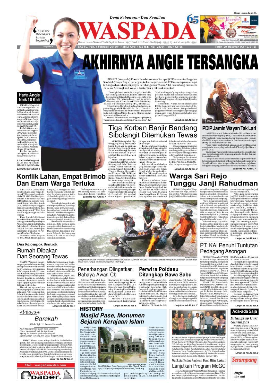 Waspada Sabtu 4 Februari 2012 By Harian Issuu Produk Ukm Bumn Tenun Pagatan Kemeja Pria Biru Kapal
