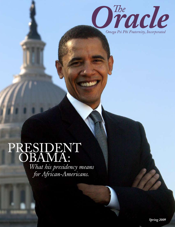 Omega Psi Phi | Spring 2009 Oracle by Progressive Greek - issuu