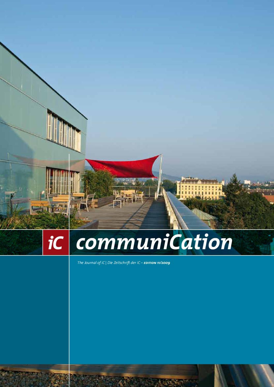 ic communication 11 by ic consulenten ziviltechniker gesmbh issuu