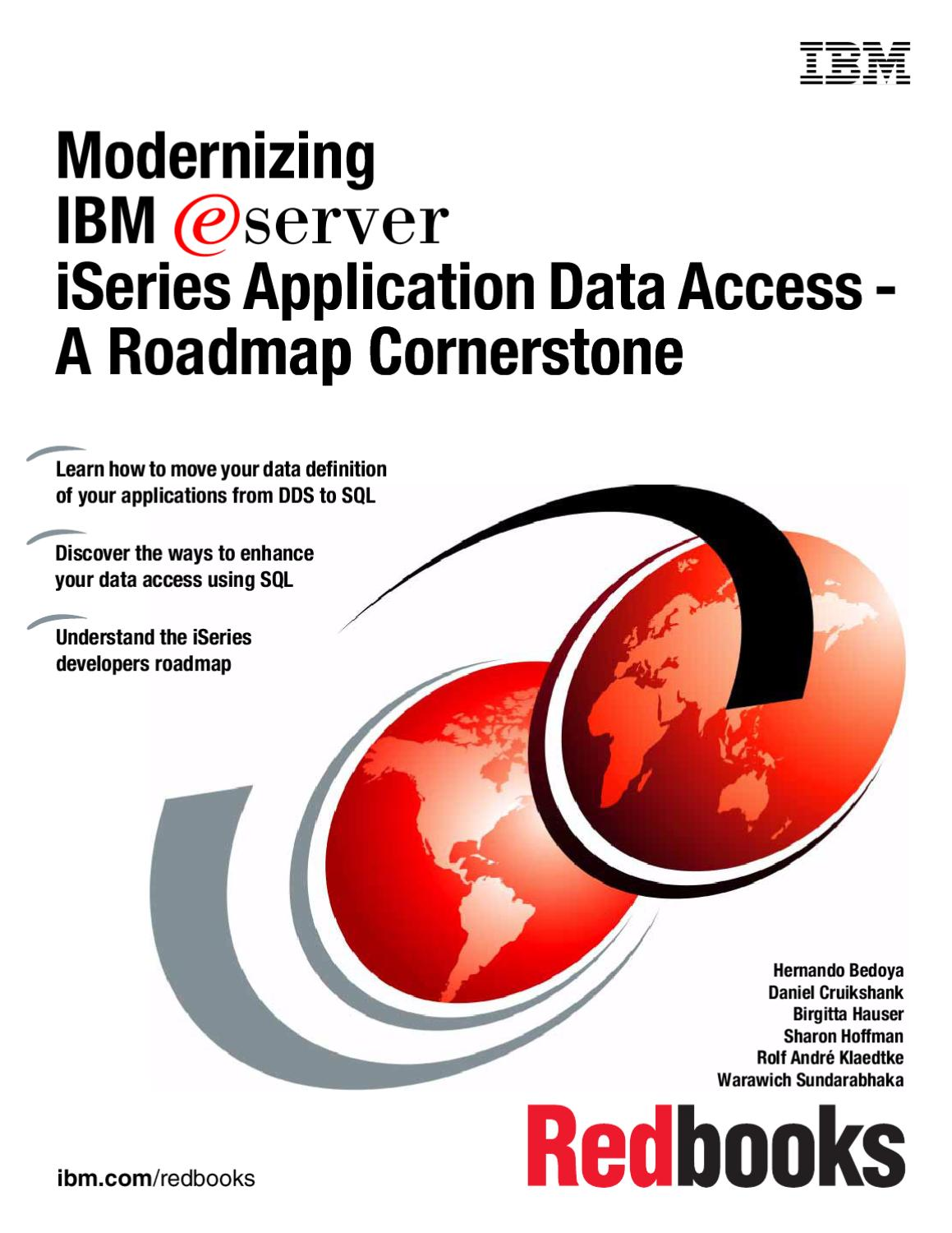 Modernisation of Data Access by Sean McGovern - issuu