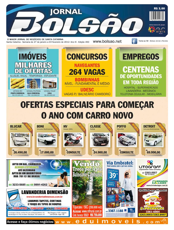 a894366b90a95 Edição 450 by Bolsão Jornal - issuu