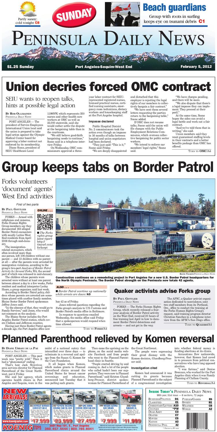 Pdn20120205c By Peninsula Daily News Sequim Gazette Issuu Single Side Copper Clad Laminate Pcb Circuit Board Ccl Alex Nld