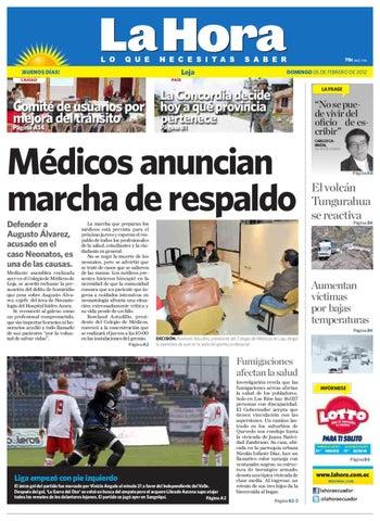 Diario La Hora Loja 05 de Febrero 2012 by Diario La Hora Ecuador - issuu 829ea9aec1cab