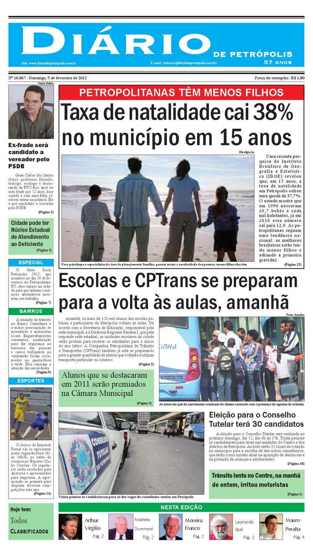 diariodepetropolis by Diário de Petrópolis - issuu 60646d4117