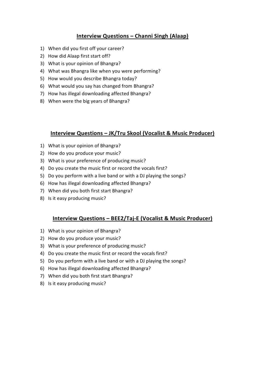 Interview Questions By Jagvir Singh Tiwana   Issuu