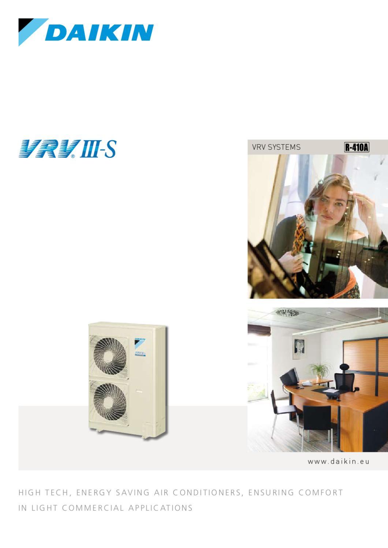 DAIKIN - VRV III-S /02-2008/ (EN) by Ivailo Stoyanov - issuu