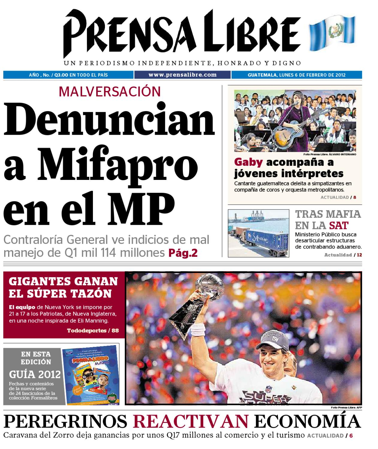 PDF,06022012 by Prensa Libre - issuu