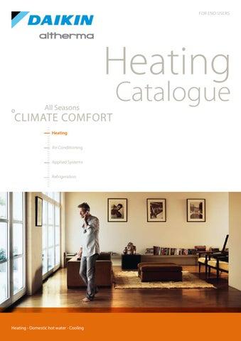 DAIKIN ALTHERMA - Heating Catalogue /12-2009/ (EN) by Ivailo