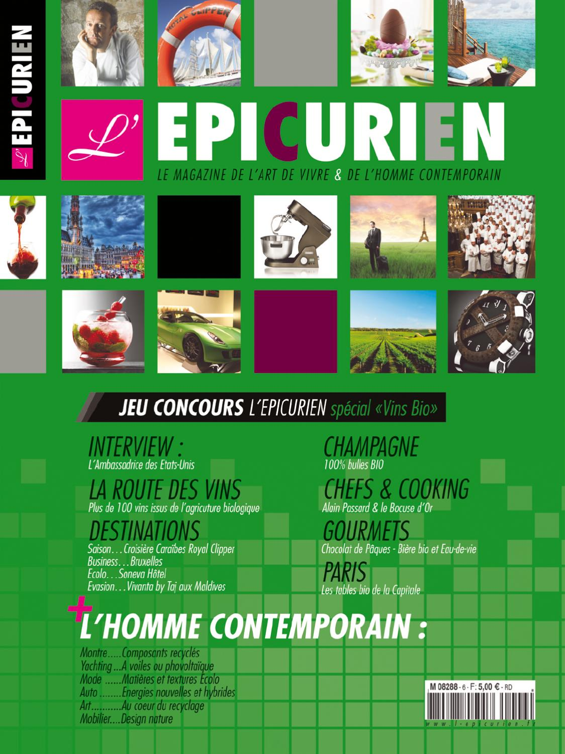 L EPICURIEN magazine 106 by Tony Barusta - Issuu 3dc427e19d7c