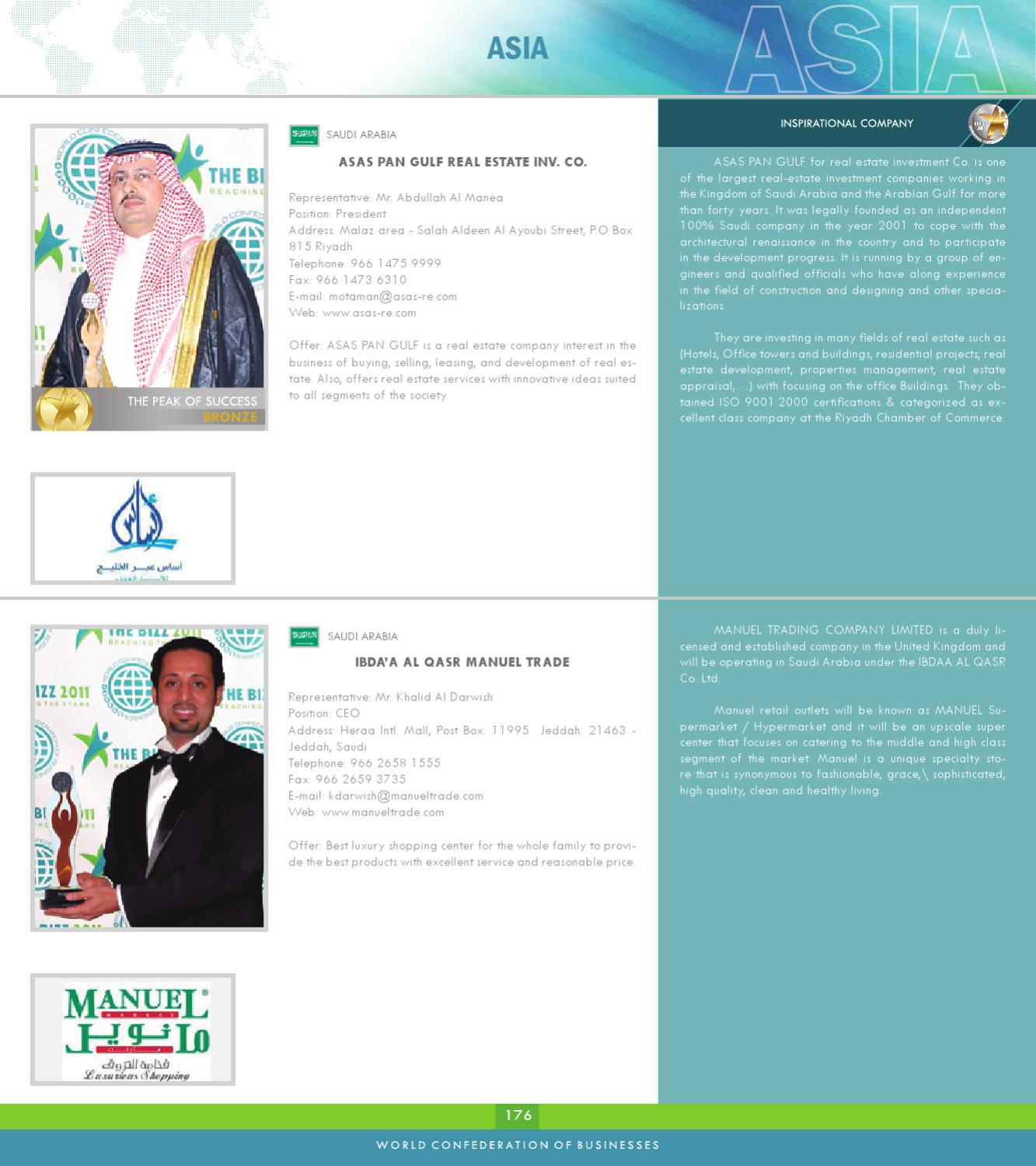 BUSINESS DIRECTORY 2011 by World Confederation of Businesses - issuu