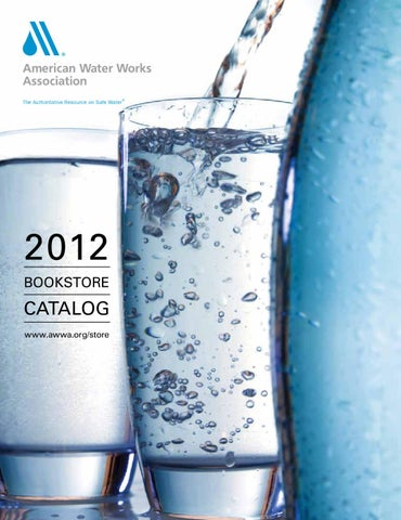 AWWA Catalog 2012 American Water Works Assoc By