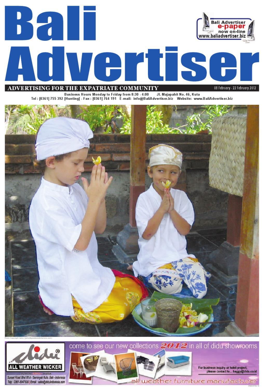 Ba 08 February 2012 By Bali Advertiser Issuu Hot  Kunyit Asem 1 Ltr