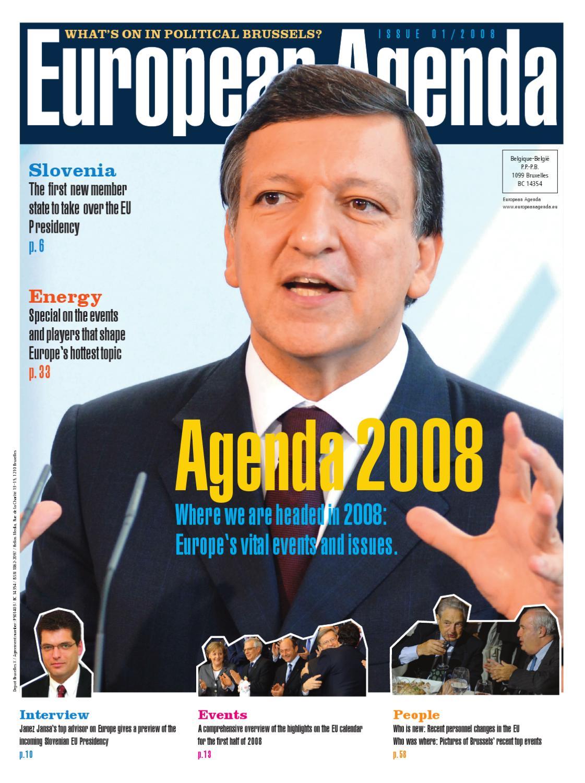 ed32d1787bf4 European Agenda 01 2008 by Steffi Portfolio - issuu