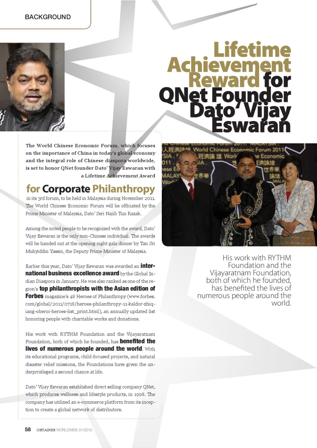 OBTAINER Magazine Jan 2012 Issue by QNET Ltd - issuu