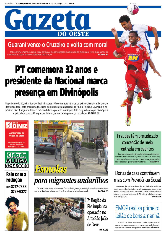20594ba50 Gazeta do Oeste by Portal G37 - issuu