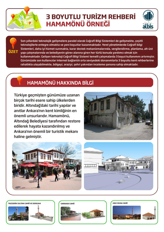 3 Boyutlu Turizm Rehberi - Hamamönü by Erkan Uçaner - issuu