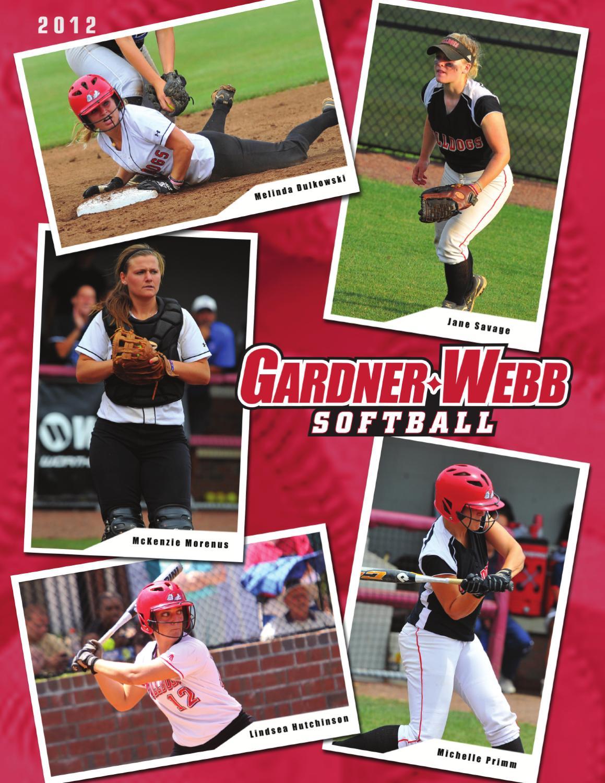 2012 Gardner Webb Softball Media Guide By Marc Rabb Issuu