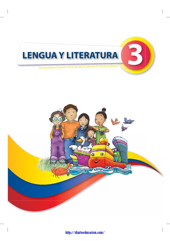 3º Grado. Lengua y Literatura by Trasteando Ideas - issuu