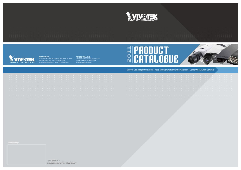 VIVOTEK FD8161-VVTK Network Camera Vista