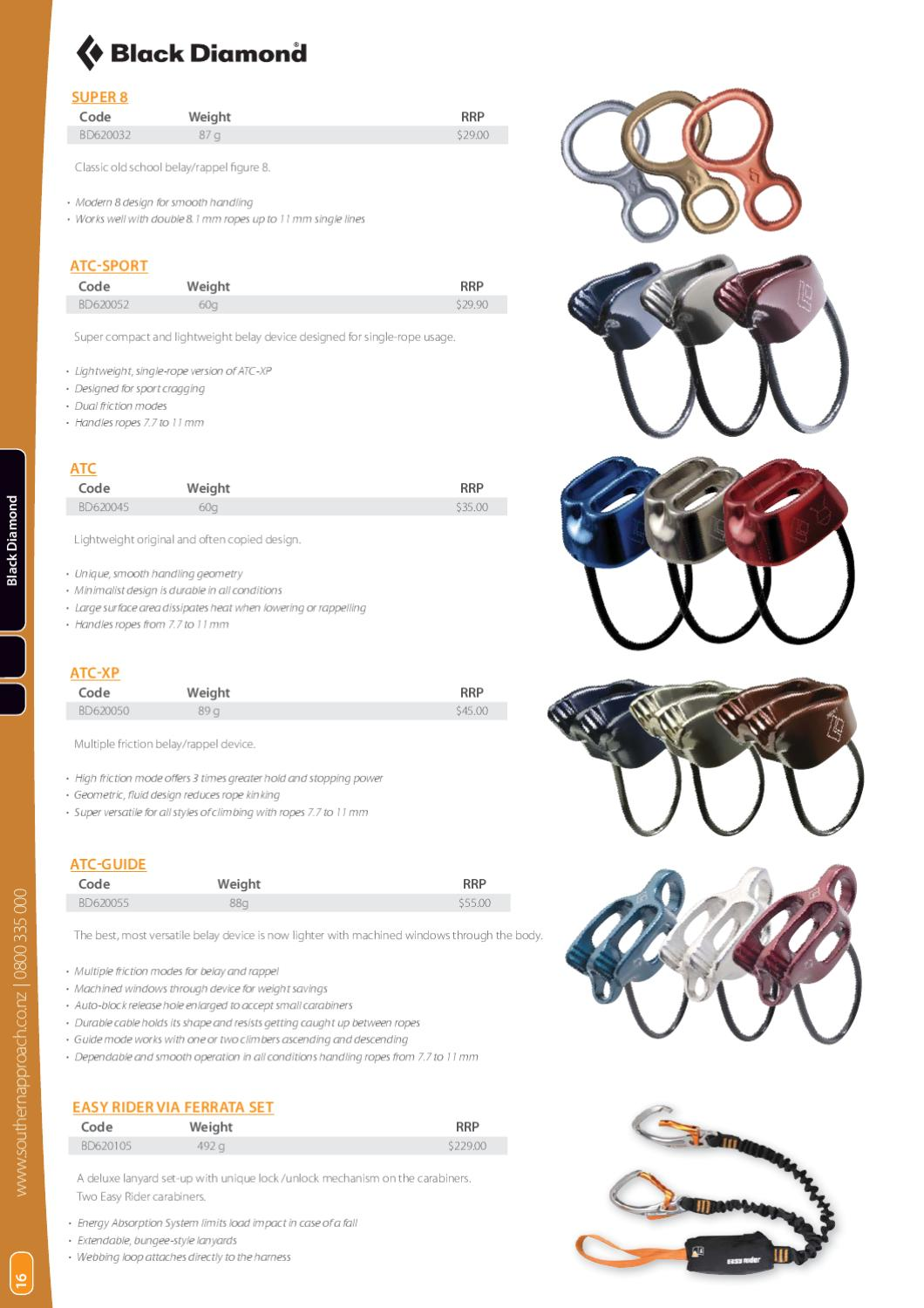 Black Diamond NZ Product Catalog by Southern Approach - issuu